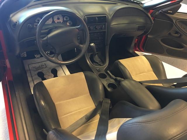 2003 Ford Mustang SVT Cobra 10th Anniversary SVT Cobra 2dr Convertible - Fort Wayne IN