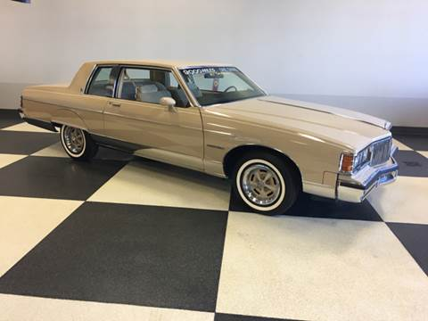 1981 Pontiac Bonneville for sale at Drummond MotorSports LLC in Fort Wayne IN