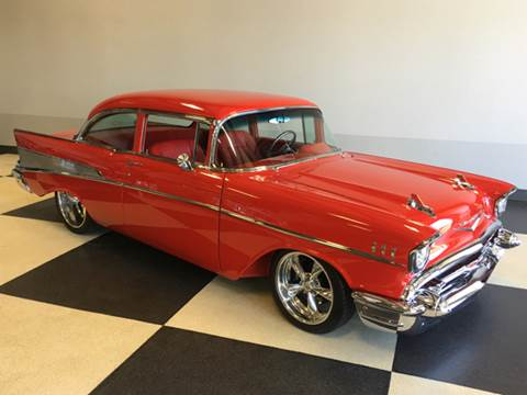 1957 Chevrolet Bel Air for sale at Drummond MotorSports LLC in Fort Wayne IN
