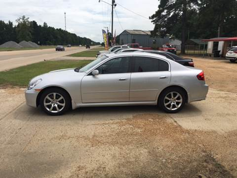 2006 Infiniti G35 for sale at Landmark Motors in Glenmora LA