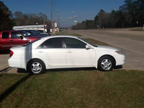 2002 Toyota Camry for sale at Landmark Motors in Glenmora LA