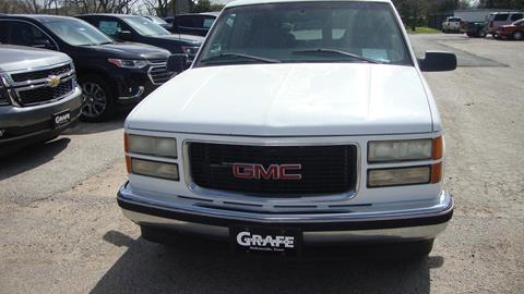 1999 GMC Yukon for sale in Hallettsville, TX