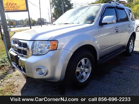 2010 Ford Escape for sale at Car Corner INC in Vineland NJ