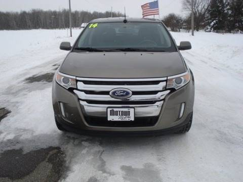 2014 Ford Edge for sale at Midtown Motors LLC in Arpin WI