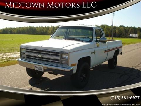 1987 Chevrolet R/V 10 Series for sale in Arpin, WI