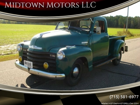 1949 Chevrolet 3100 for sale in Arpin, WI