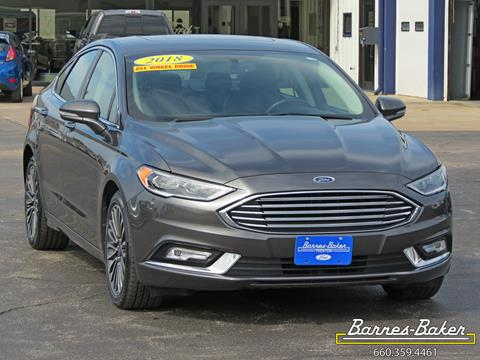 2018 Ford Fusion for sale in Trenton, MO