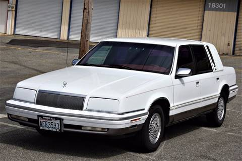1993 Chrysler New Yorker for sale at CAR MASTER PROS AUTO SALES in Lynnwood WA