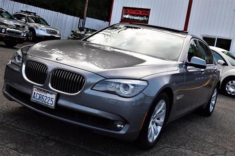 2010 BMW 7 Series for sale at CAR MASTER PROS AUTO SALES in Lynnwood WA