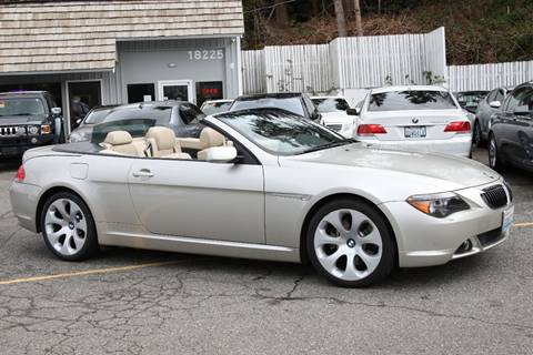 BMW Series For Sale Carsforsalecom - 2004 bmw 645ci convertible for sale