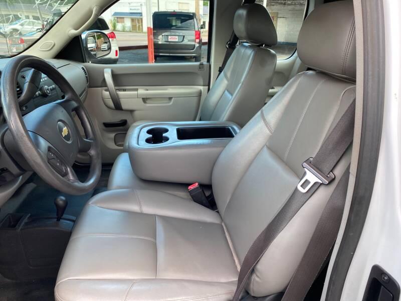 2012 Chevrolet Silverado 1500 4x4 Work Truck 4dr Extended Cab 6.5 ft. SB - Elizabethton TN