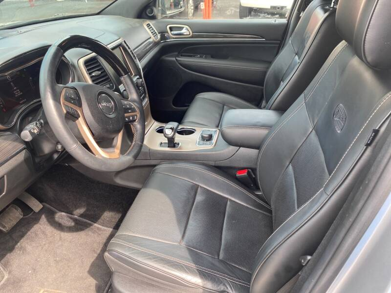 2014 Jeep Grand Cherokee 4x4 Overland 4dr SUV - Elizabethton TN