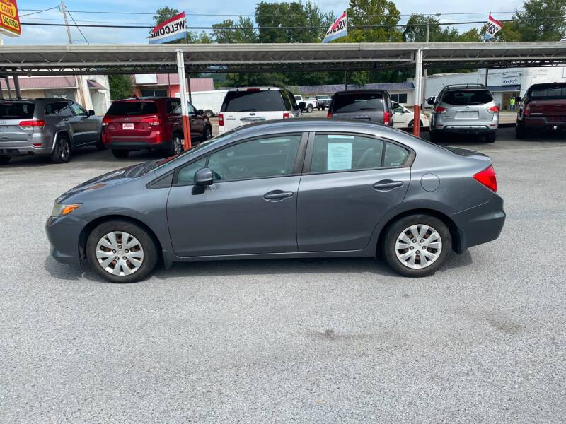 2012 Honda Civic LX 4dr Sedan 5A - Elizabethton TN