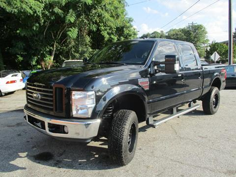 2008 Ford F-250 Super Duty for sale at T.K. AUTO SALES LLC in Salisbury NC