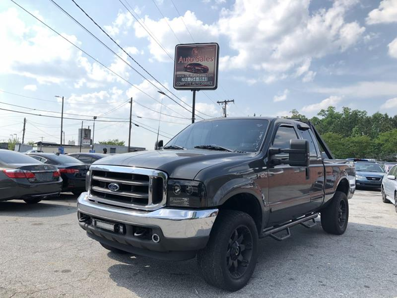 2002 Ford F-250 Super Duty for sale at T.K. AUTO SALES LLC in Salisbury NC