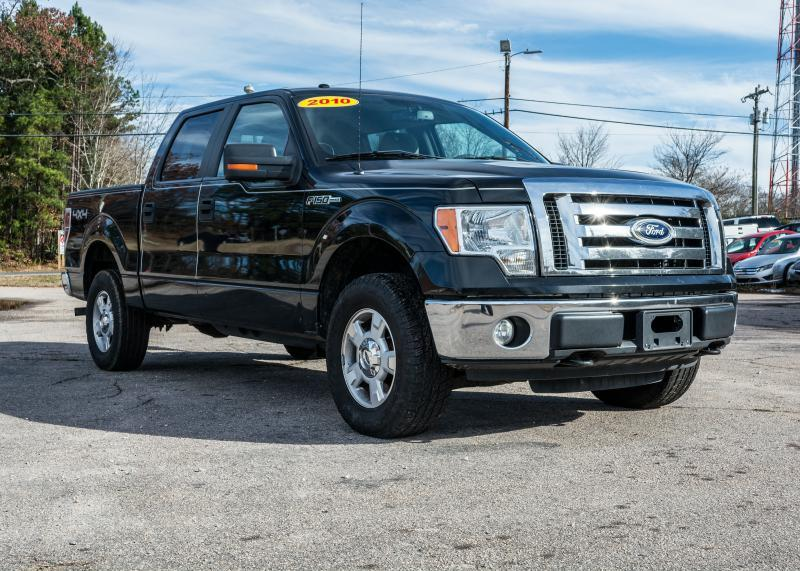 2010 Ford F-150 for sale at T.K. AUTO SALES LLC in Salisbury NC