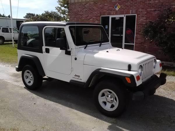 2004 Jeep Wrangler Sport Sport   Wilmington NC