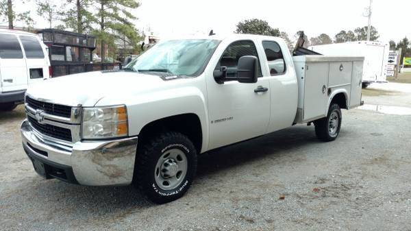 2009 Chevrolet Silverado 2500HD 4x2 Work Truck 4dr Extended Cab LB - Wilmington NC