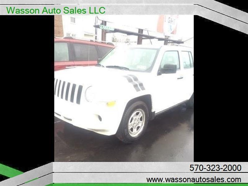 2009 jeep patriot sport 4dr suv in williamsport pa wasson auto sales llc. Black Bedroom Furniture Sets. Home Design Ideas