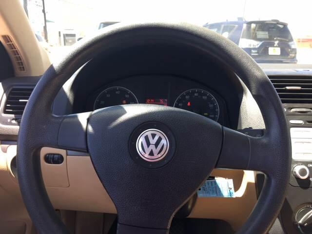 2007 Volkswagen Jetta Wolfsburg Edition 4dr Sedan (2.5L I5 6A) - Clovis NM