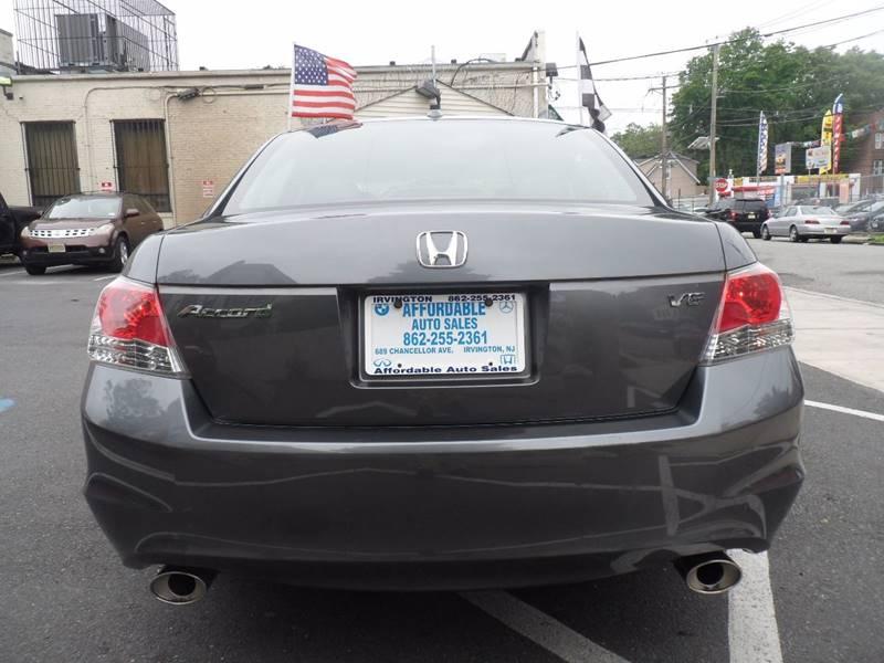 2008 Honda Accord EX-L V6 4dr Sedan 5A - Irvington NJ