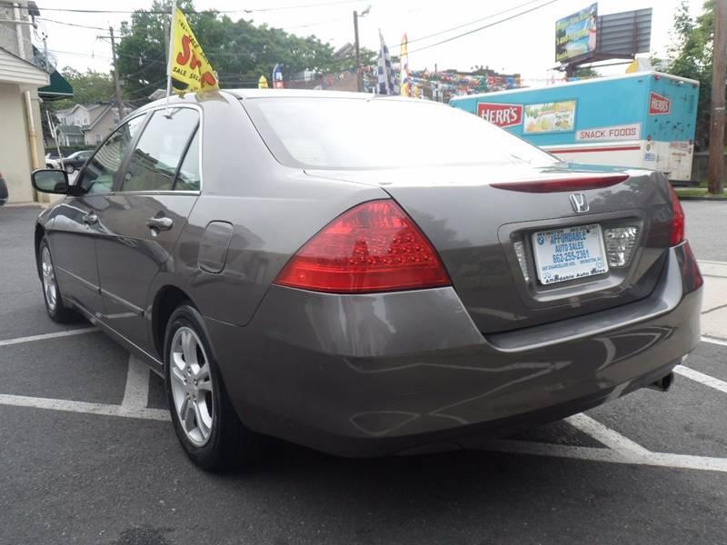 2007 Honda Accord EX 4dr Sedan (2.4L I4 5A) - Irvington NJ