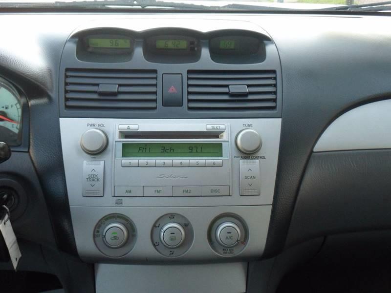 2006 Toyota Camry Solara SE Sport 2dr Coupe w/Automatic - Irvington NJ