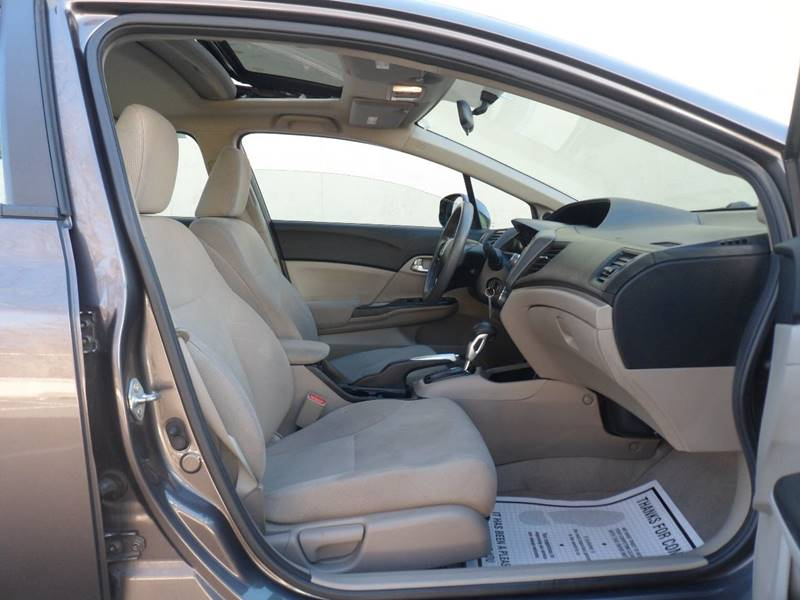 2012 Honda Civic EX 4dr Sedan - Irvington NJ