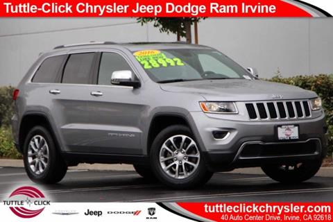 Tuttle Click Jeep >> Tuttle Click Chrysler Jeep Dodge Ram Used Cars Irvine Ca Dealer