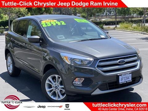 2019 Ford Escape for sale in Irvine, CA