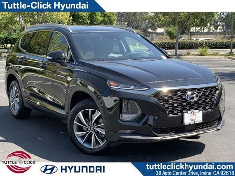 2019 Hyundai Santa Fe for sale in Irvine, CA