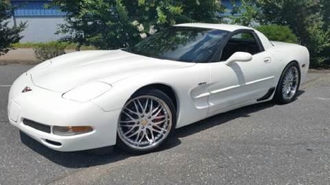 2001 Chevrolet Corvette for sale at B & J AUTO SALES in Morganton NC