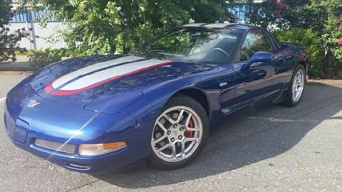2004 Chevrolet Corvette for sale at B & J AUTO SALES in Morganton NC