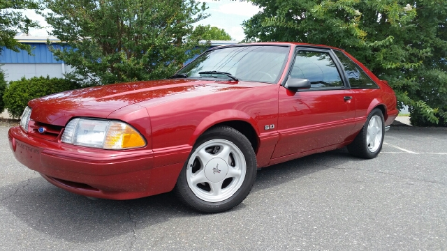 1992 Ford Mustang for sale at B & J AUTO SALES in Morganton NC