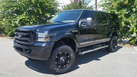 2005 Ford Excursion for sale at B & J AUTO SALES in Morganton NC