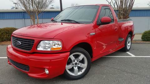 2001 Ford F-150 SVT Lightning for sale at B & J AUTO SALES in Morganton NC