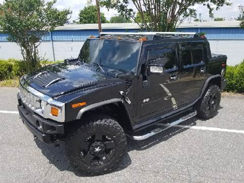 2007 HUMMER H2 SUT for sale at B & J AUTO SALES in Morganton NC