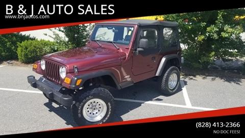 2003 Jeep Wrangler for sale in Morganton, NC