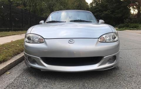 2003 Mazda MX-5 Miata for sale at Michaels Used Cars Inc. in East Lansdowne PA