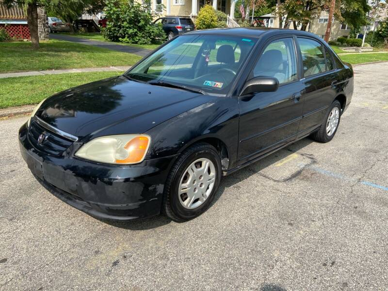 2002 Honda Civic for sale at Michaels Used Cars Inc. in East Lansdowne PA