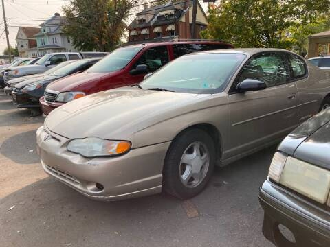 2003 Chevrolet Monte Carlo for sale at Michaels Used Cars Inc. in East Lansdowne PA