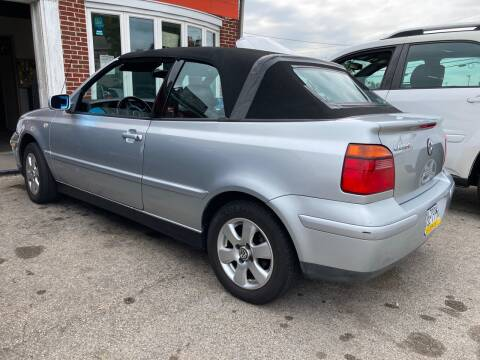 2002 Volkswagen Cabrio for sale at Michaels Used Cars Inc. in East Lansdowne PA