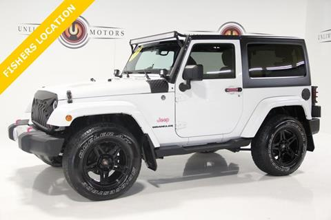 2012 Jeep Wrangler for sale in Fishers, IN