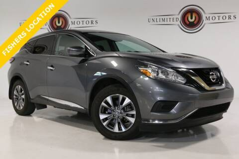 2016 Nissan Murano for sale at Unlimited Motors in Fishers IN