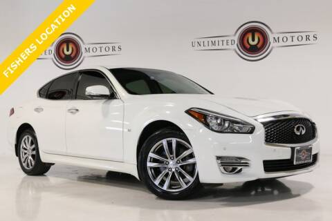 2015 Infiniti Q70 for sale at Unlimited Motors in Fishers IN