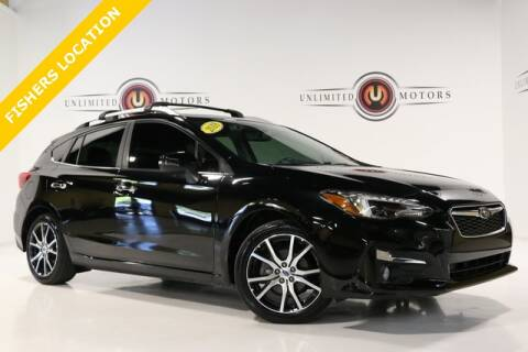 2018 Subaru Impreza for sale at Unlimited Motors in Fishers IN
