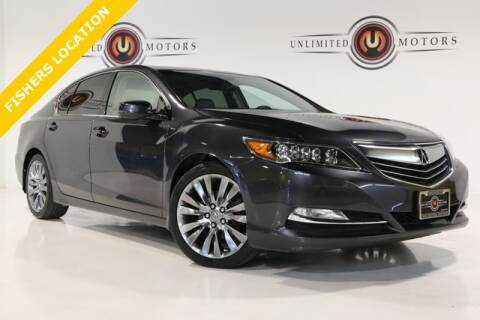 2017 Acura RLX for sale at Unlimited Motors in Fishers IN