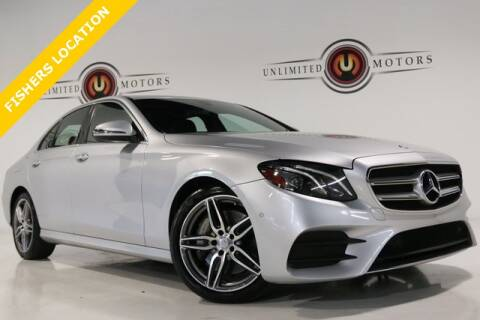 2017 Mercedes-Benz E-Class for sale at Unlimited Motors in Fishers IN