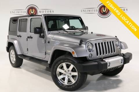 2015 Jeep Wrangler Unlimited for sale at Unlimited Motors in Fishers IN