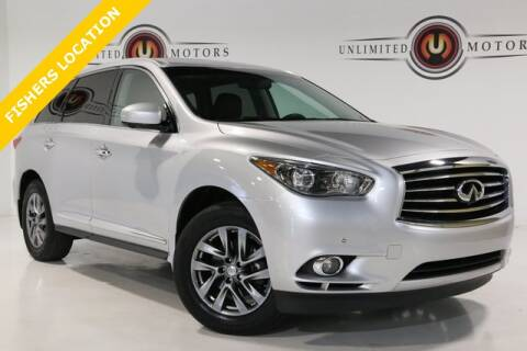 2013 Infiniti JX35 for sale at Unlimited Motors in Fishers IN